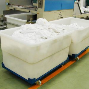 Contenedor textil de lavandería